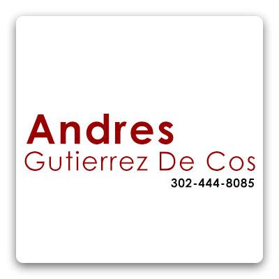 Andres Gutierrez de Cos